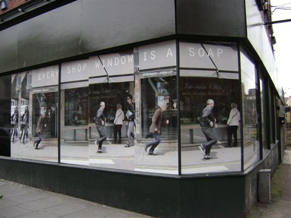 Every Shop Window is a Soapbox, Touched, Liverpool Biennial 2010