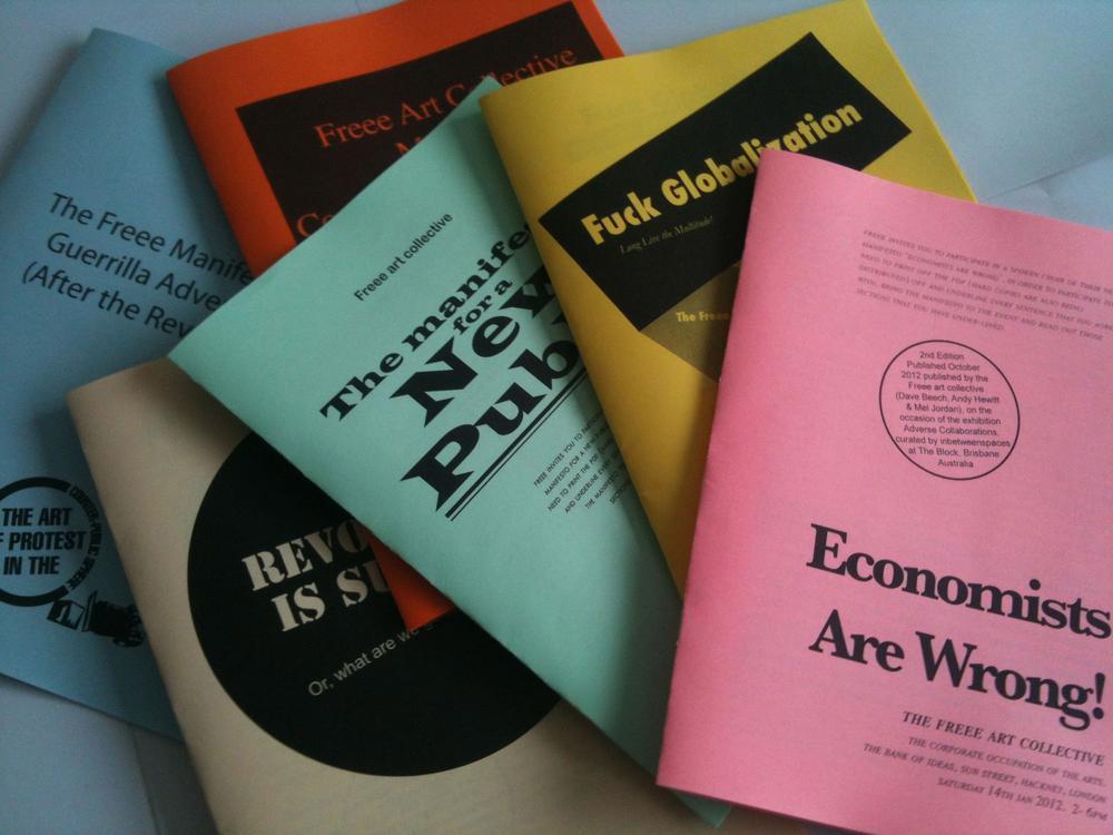 Freee art collective manifestos (2005–2013)