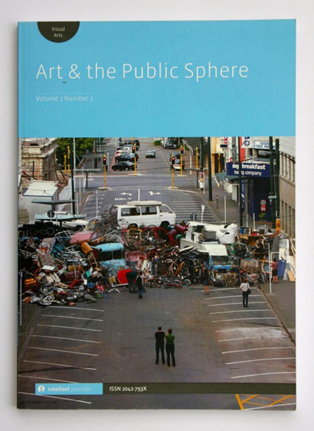Art and the Public Sphere Journal