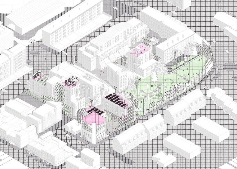 Future common neighbourhoods