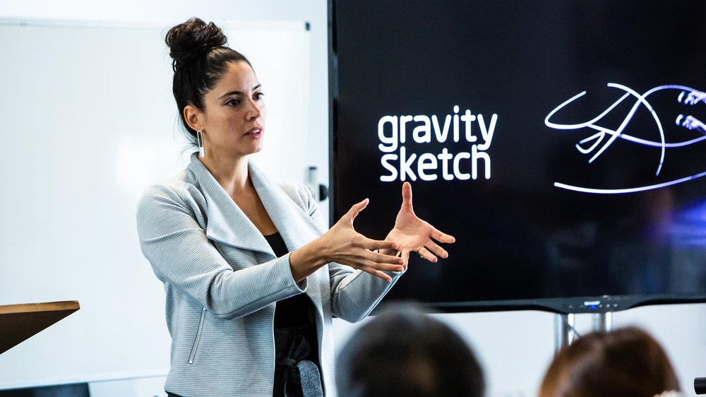 Daniela Paredes Fuentes, Co-Founder of Gravity Sketch, an InnovationRCA Incubated Start-Up