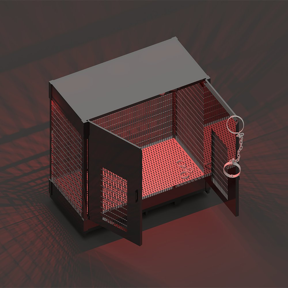 Drum store interceptor or Kink cage