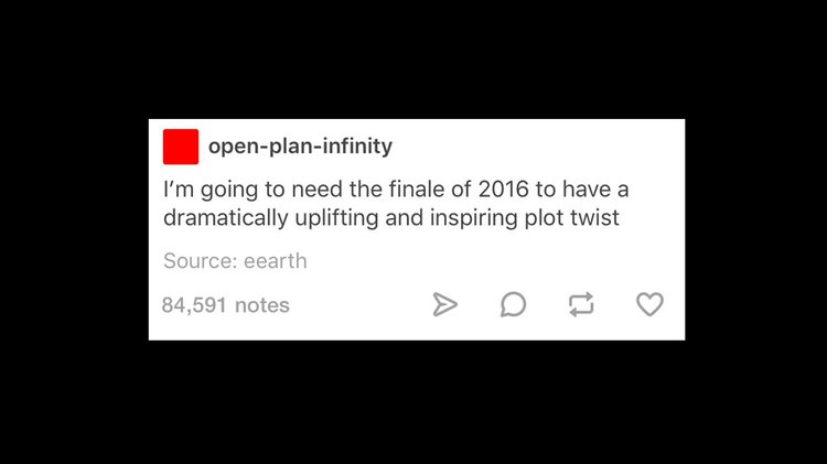 NAtional Sentiment: I'm going to need the finale of 2016 to have a dramatically uplifting and inspiring plot twist.