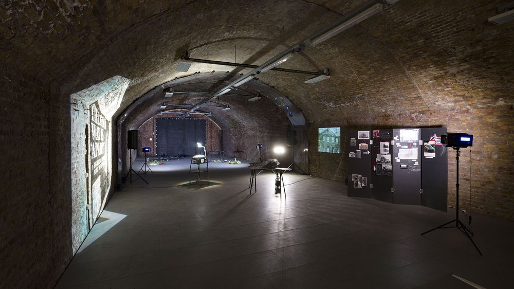 #DoingItInPublic exhibition view. Arch space at Beaconsfield Gallery Vauxhall.