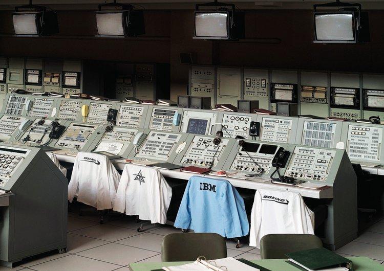 Vincent Fournier, Apollo Control Room, John F. Kennedy Space Centre, 2011