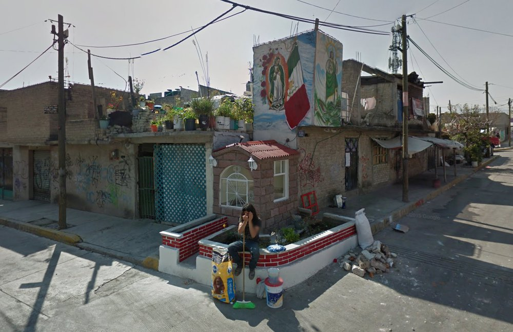 Self Built Tiny Chapel - Mexico State, Mexico