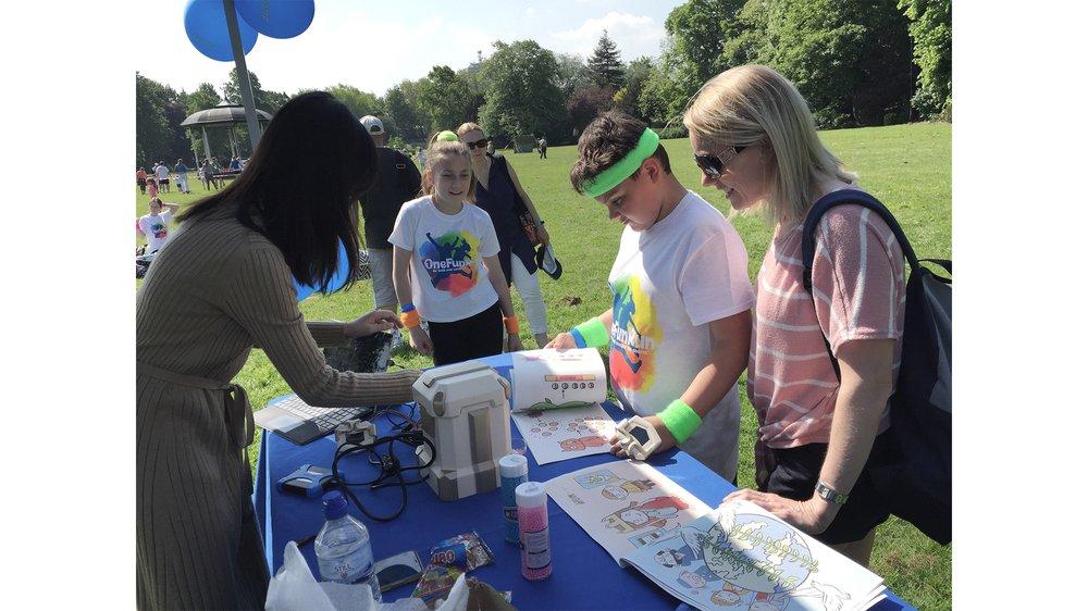 Children diabetes education game