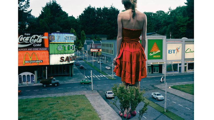 Teenage Stories (Red Dress in City)
