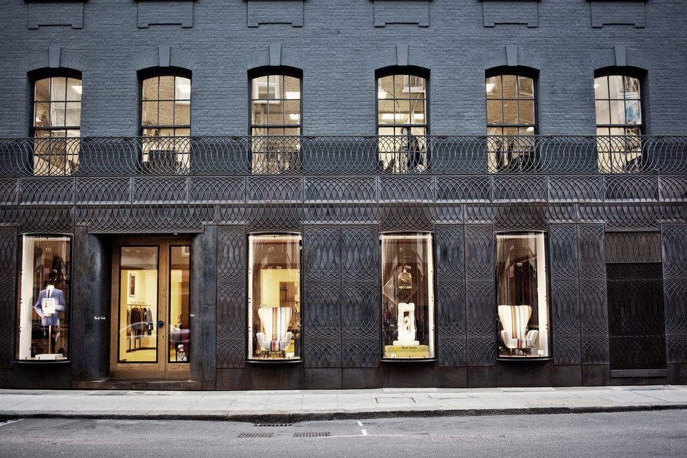 Paul Smith, Albermarle Street, London. In collaboration with 6a Architects