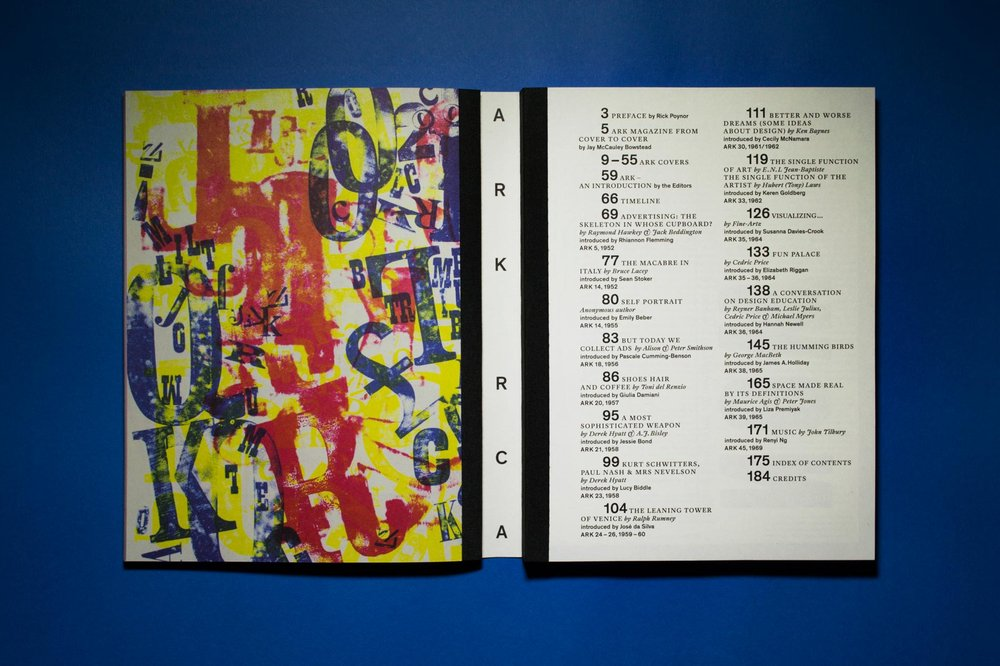 ARK: Words and Images from the Royal College of Art Magazine
