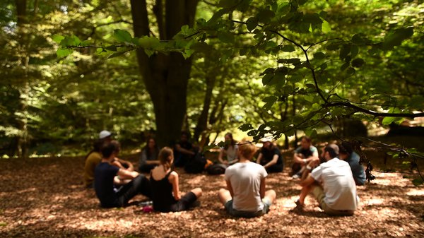 Introduction to a weekend intensive workshop in Epping Forest near London.