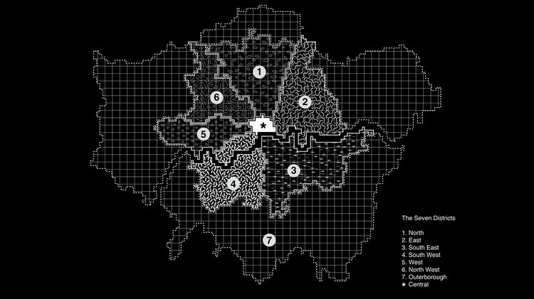 The Seven Districts – A Future History by ADS4