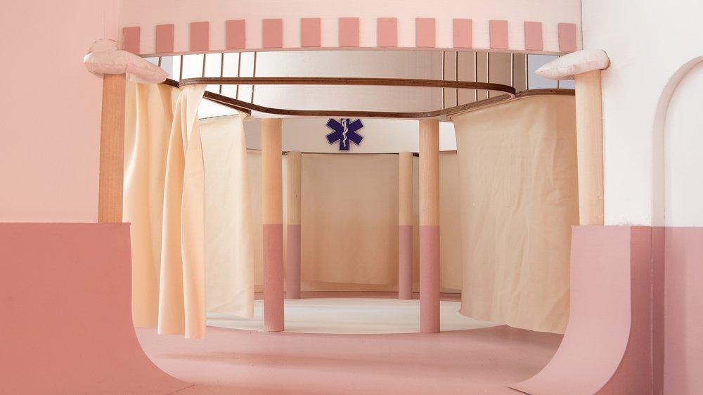 Design for a Hospital Ward
