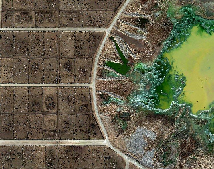 Mishka Henner, Feedlots - Tascosa Feedyard, Bushland, Texas. 2012-13