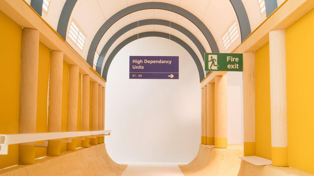 Design for a Hospital Corridor