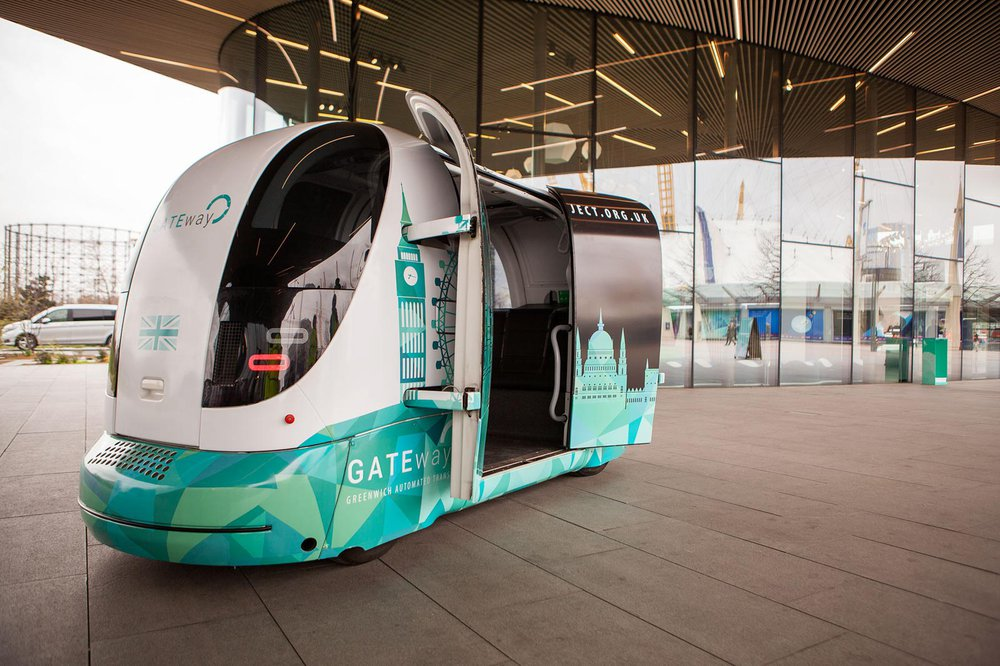 GATEway driverless pods used for trials