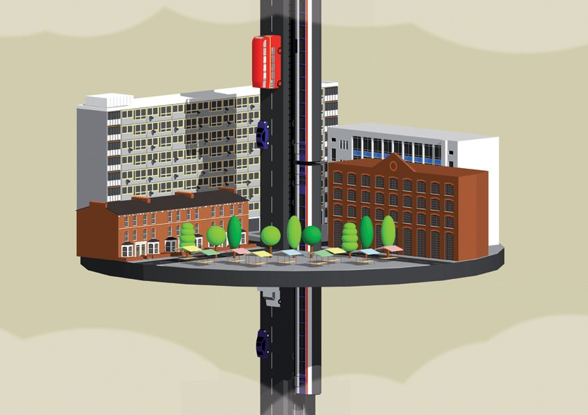 Imagine A Vertical City