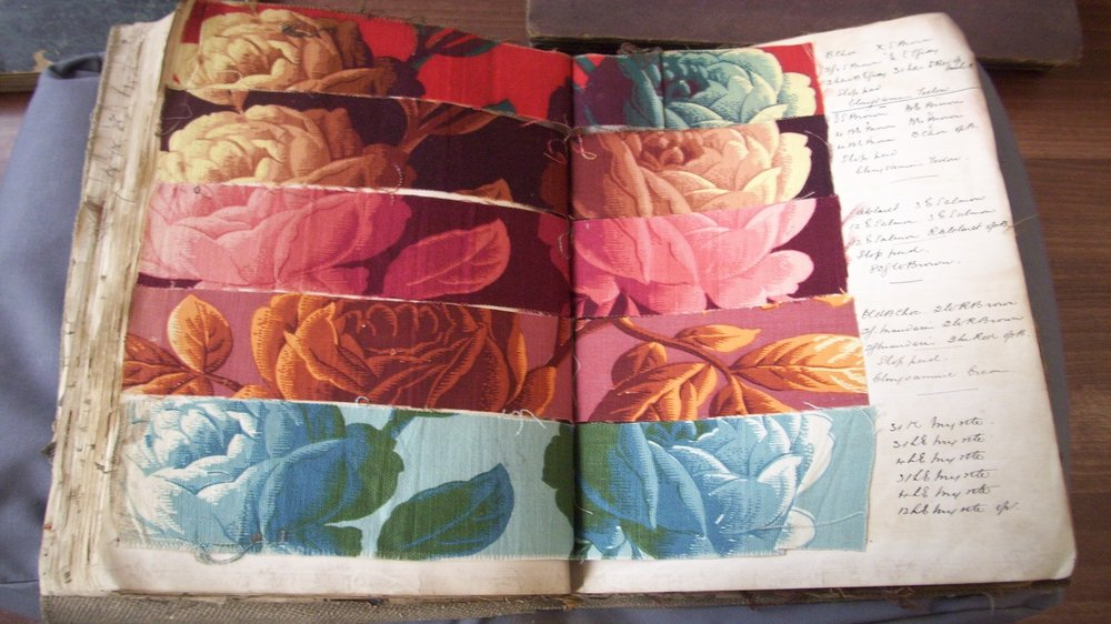 Textile Samples by Edmund Potter & Co., 1890s, The Derbyshire Record Office