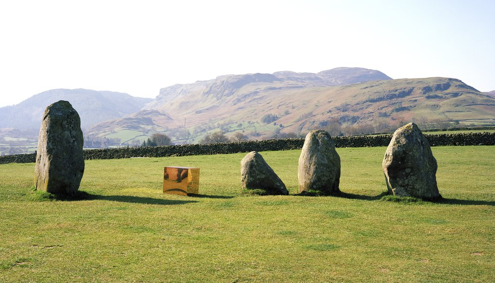 Self Portrait at Castlerigg Stone Circle