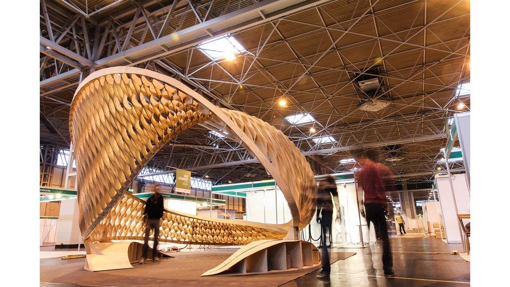 The TWIST AA EMTECH Pavilion, Timber Expo Birmingham