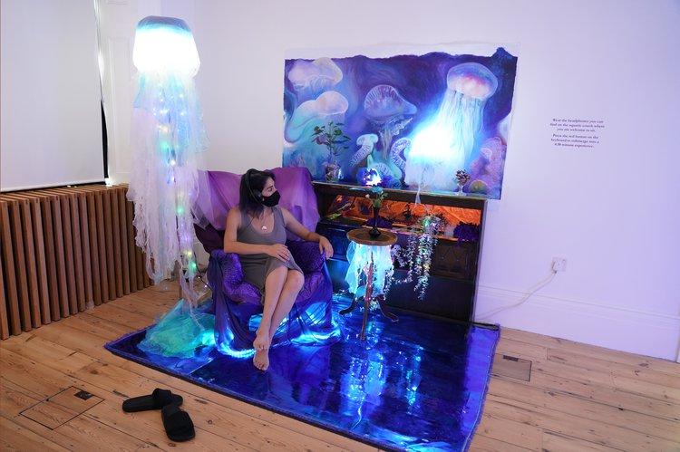 Poala Estrella and Jared Bennett, Symbiotic Mimesis (Jellyfish)