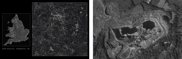 Rachel Housley's Osteoconstruction (ADS3, RCA 2019/20) uncovers the timeline of calcium metabolism through the resurgence of rickets in the UK, drawing parallels between calcium formations in the architecture of the cell and the quarry