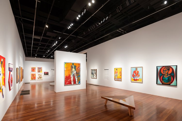 installation shot of Soul of A Nation exhibition