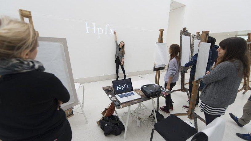 Plastic Typography workshop