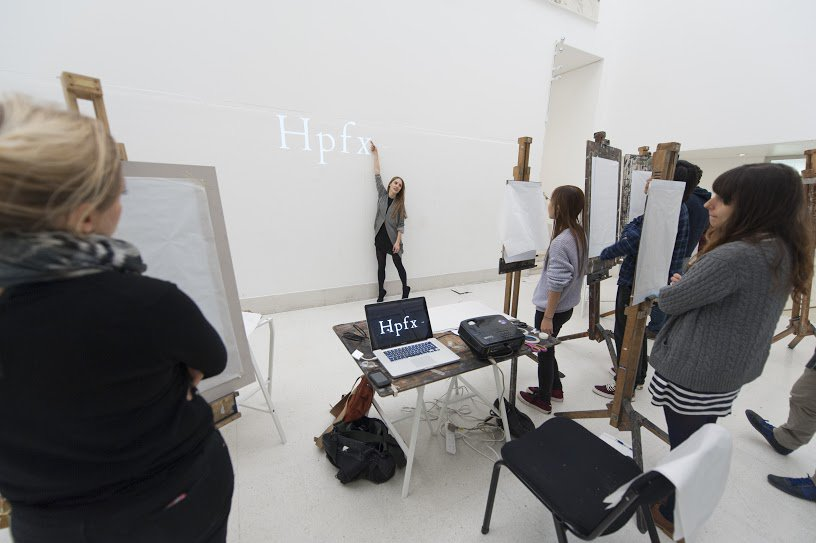 Plastic Typography workshop with IED Visiting Lecturer Helga Schmid