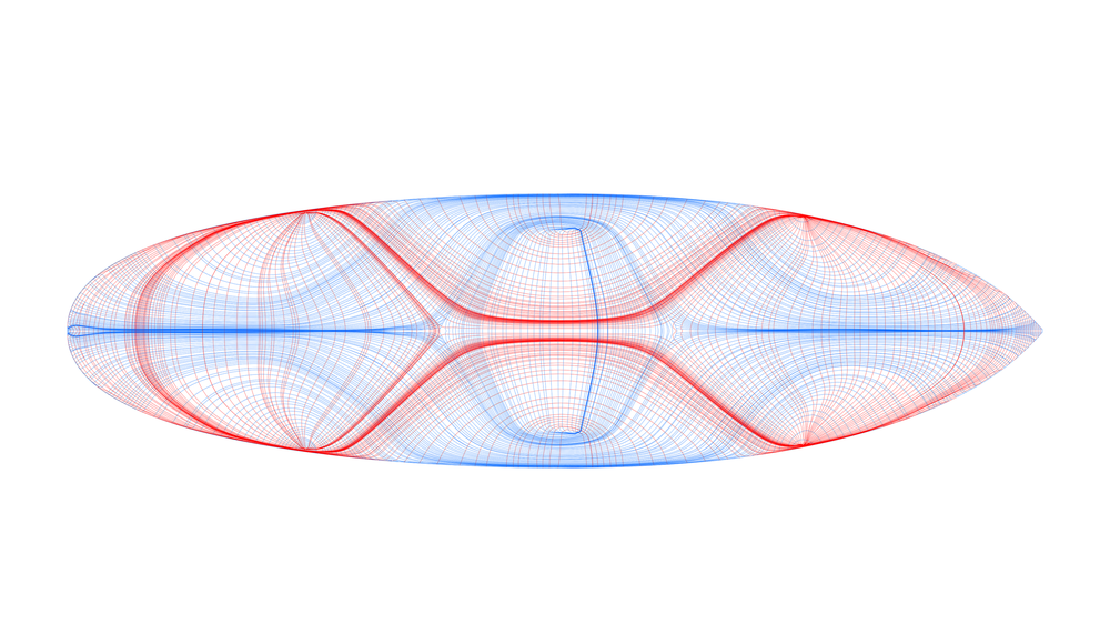 Force-flow analysis and stress-lines pattern generation