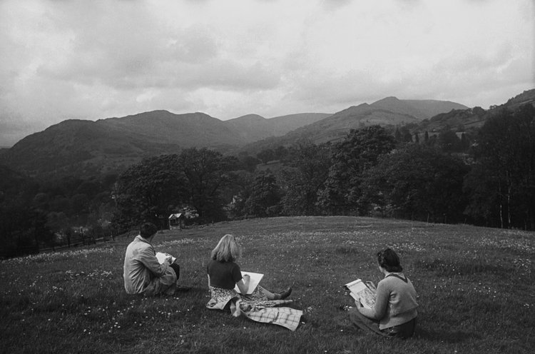 Students at Ambleside 1945