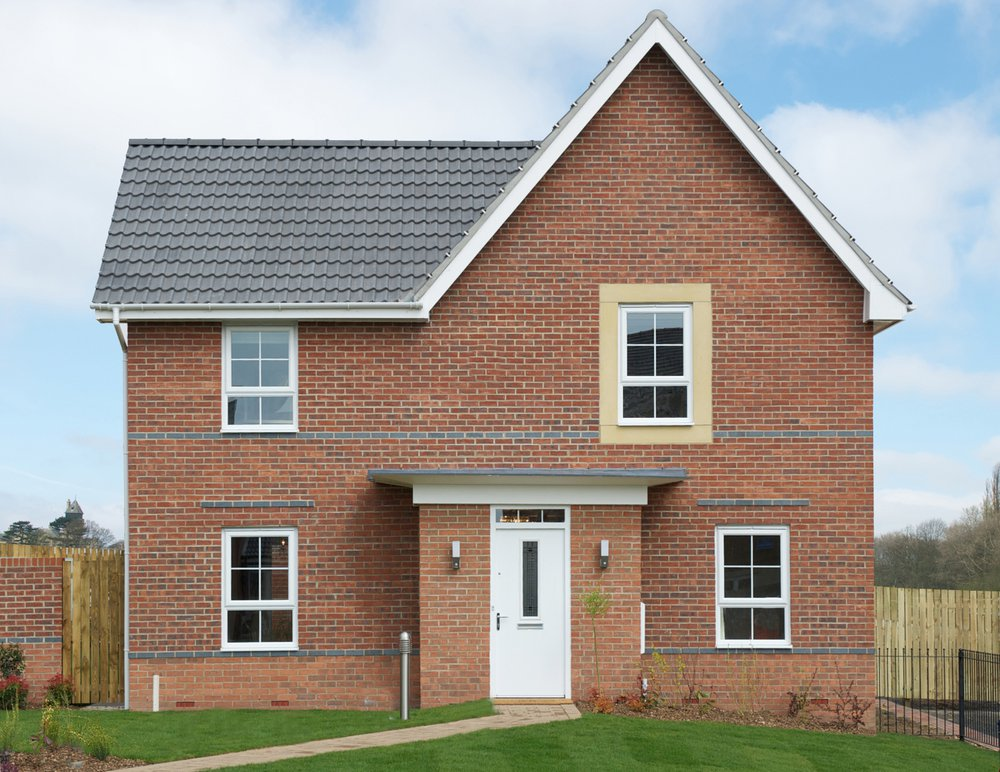 The Lincoln is one of the most popular Barratt Homes standard house types. Only six per cent of new homes in the UK are designed by architects.