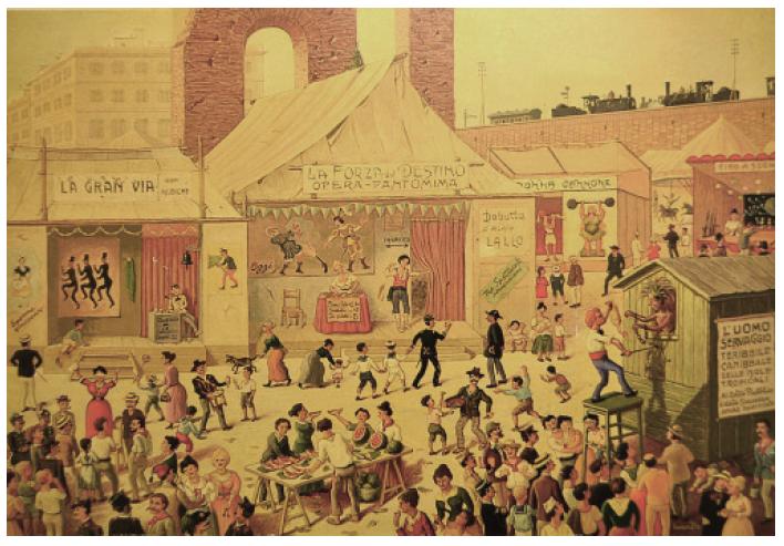 Festa de Noantri, Trastevere, Roma, Lina Bo Bardi 1929