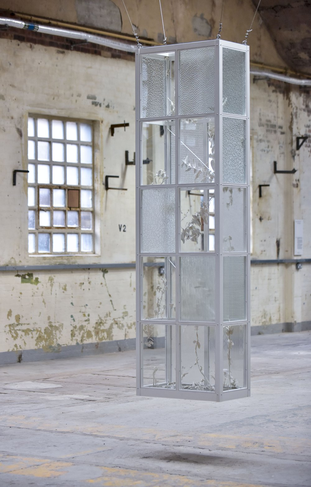 The Glasshouse, commissioned by the British Ceramics Bienalle