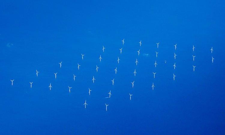 Windfarm, Thames Estuary