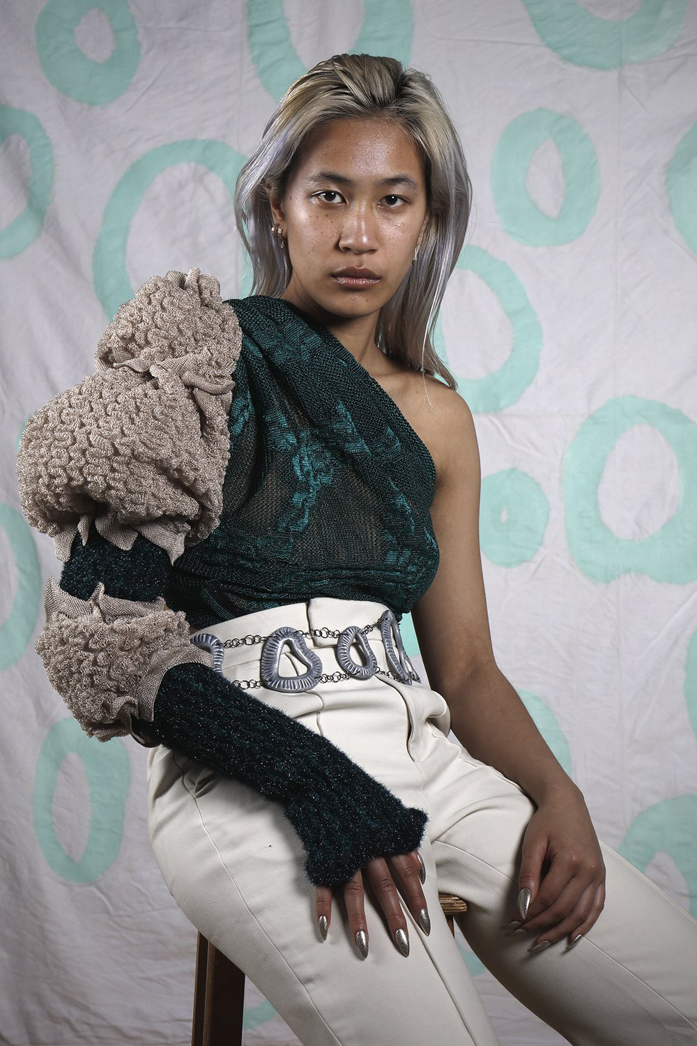 knitted garments and accessories