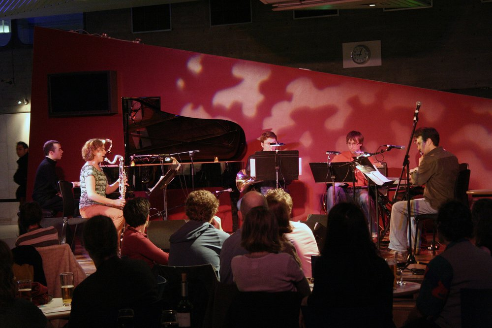 Plus Minus Ensemble performing at the Southbank Centre, curated by Rational Rec