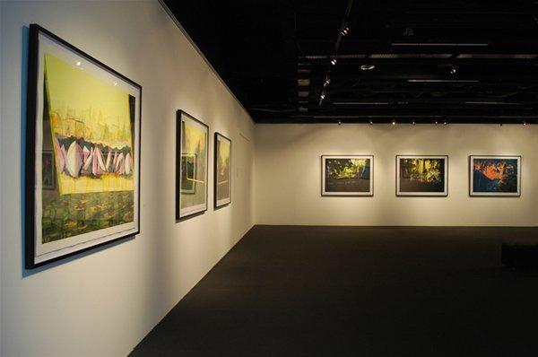 Utopias (installation view, National Museum of Singapore, 2011), Bob Matthews