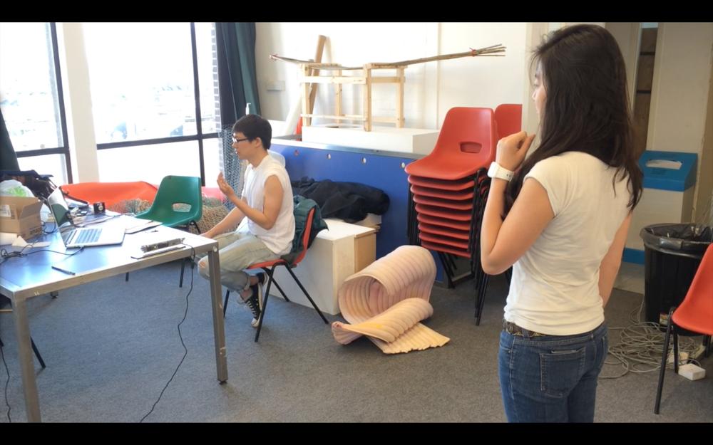 Muscle Stimulation Kinect