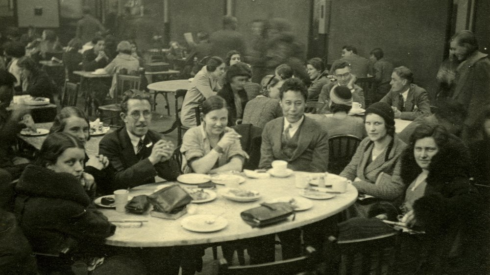 RCA Junior Common Room c.1935; Elisabeth Clements and J D McCord collection, Special Collections