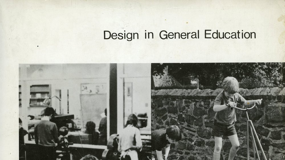 Phil Roberts (ed.), Design in General Education (cover, detail), Royal College of Art, 1979