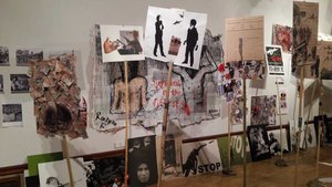 War on War Room workshop at the Herbert Art Gallery and Museum