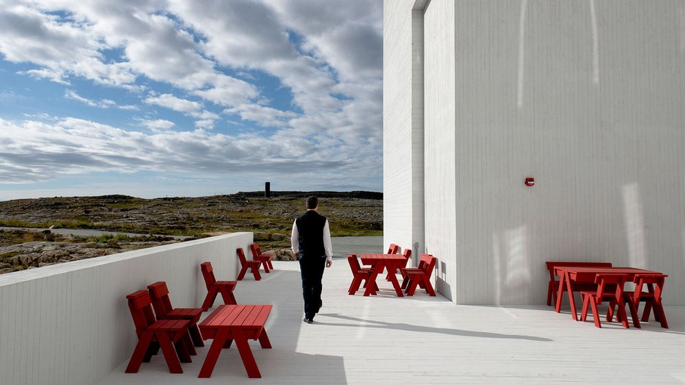 Fogo Island outdoor furniture
