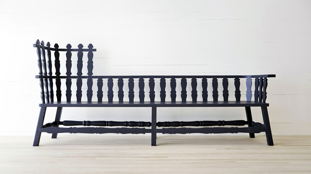 Fogo Island bench