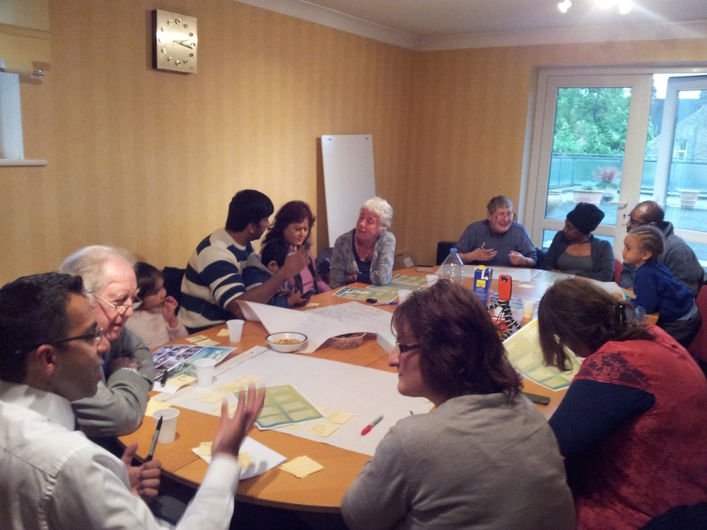 workshop at BMP - connecting the GP to community gardens