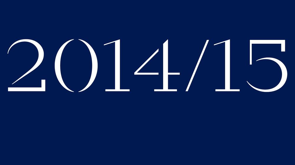2014/15 in Calvert Brody, designed by Margaret Calvert, Henrik Kubel and Neville Brody