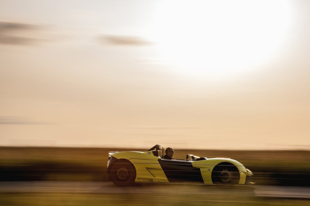 The Elemental Rp1 lightweight, road legal, track car