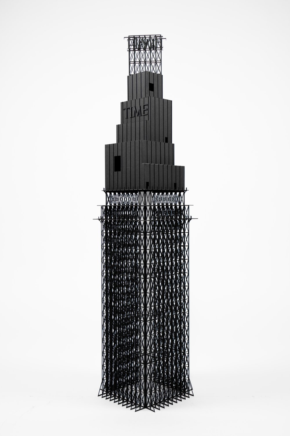 Time Tower, Infrastructures for an Overpopulated city