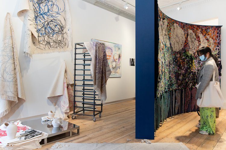 MA Painting, Alex Lewis, The Lost Art of Storytelling: Knightsbridge Carpet Emporium and MA Painting, Sophie Goodchild, Volcano, Crucible,Arena: Rubbing feet in the saft lava