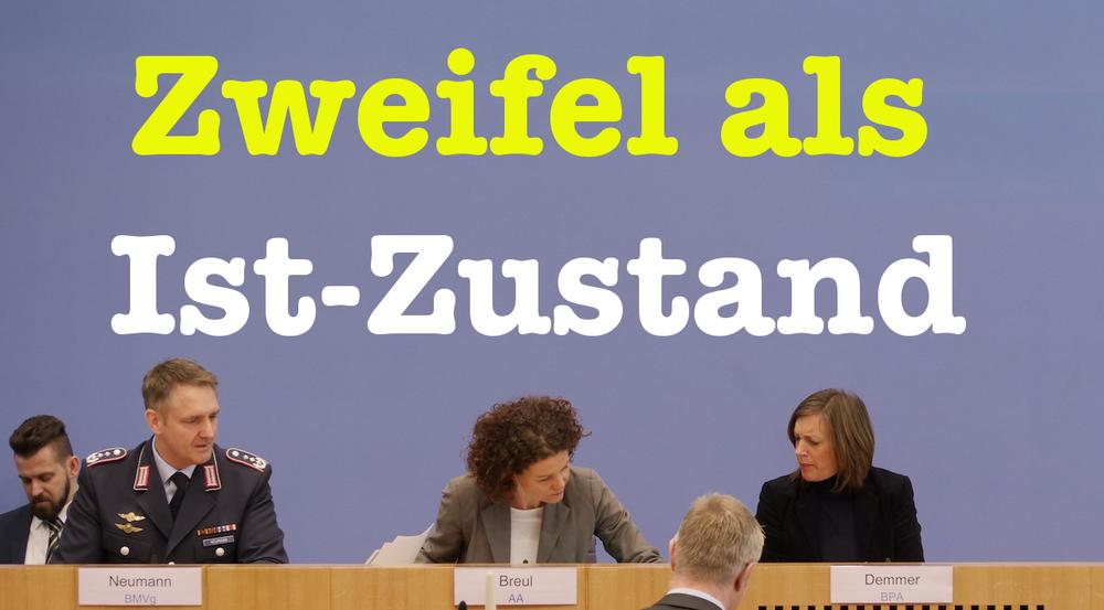 Doubt as Status Quo, Bundespressekonferenz